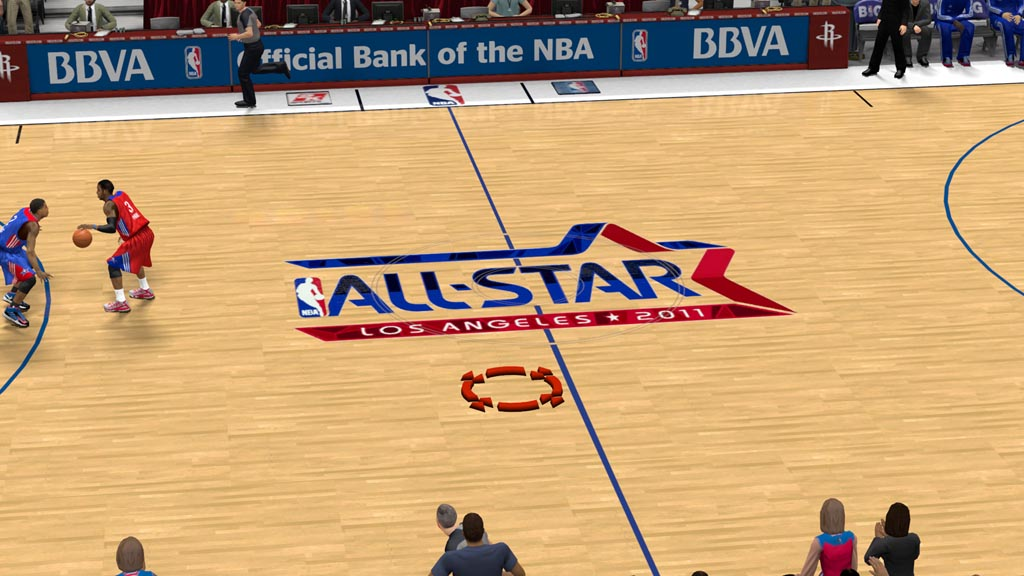2011 All-Star Court in Los Angeles