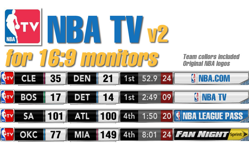 NBA TV v2 FINAL for 16:9 monitors