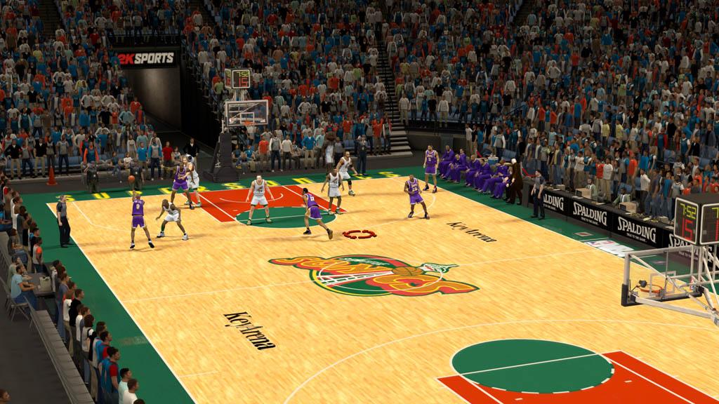 1997-2000 Key Arena at Seattle Center Coliseum