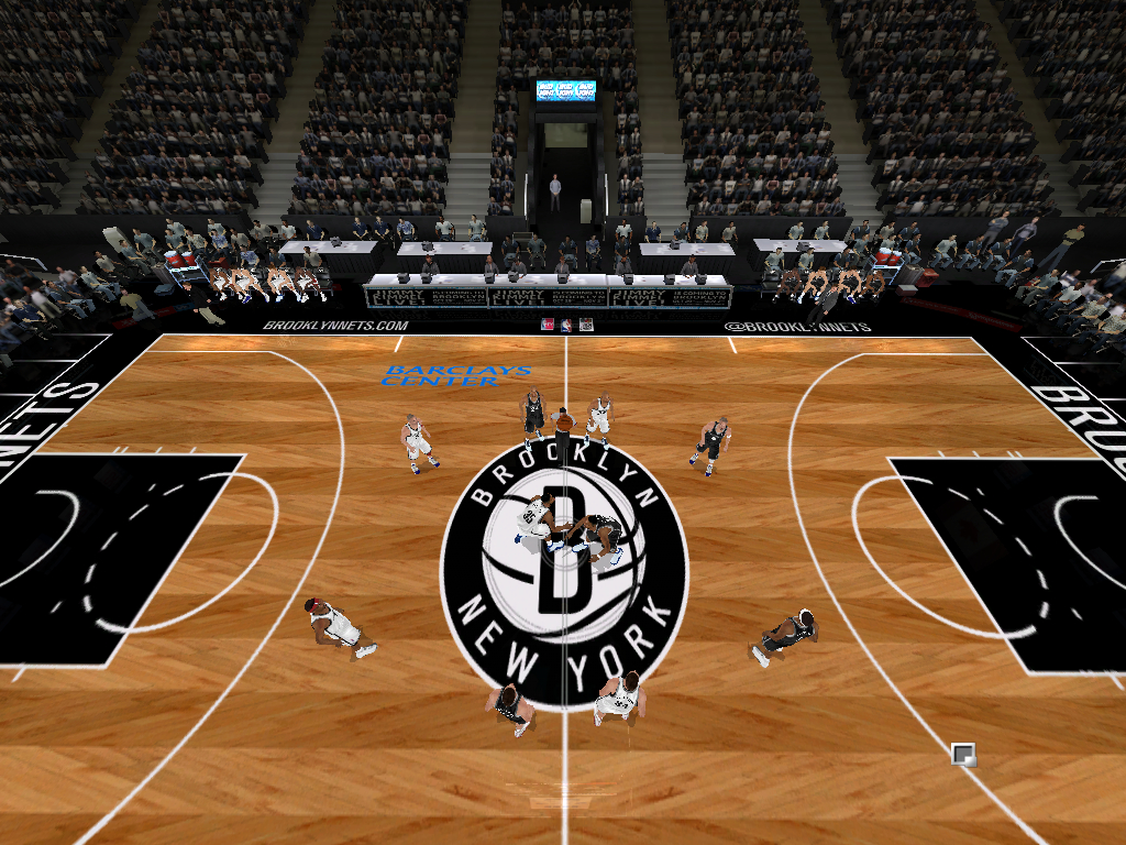 2012/2013 Brooklyn Nets Court Patch [TanyaMarkova Conversion]