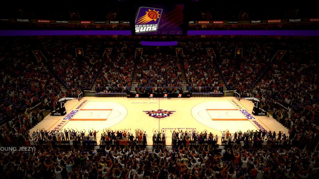 2003-2004 America West Arena in Phoenix
