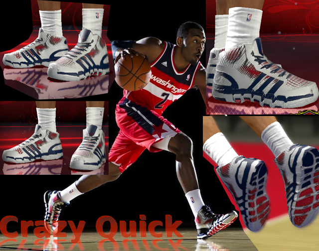 ... shoes to NBA 2K13. Adidas Crazy Quick + AND1 Prime Team Colorway