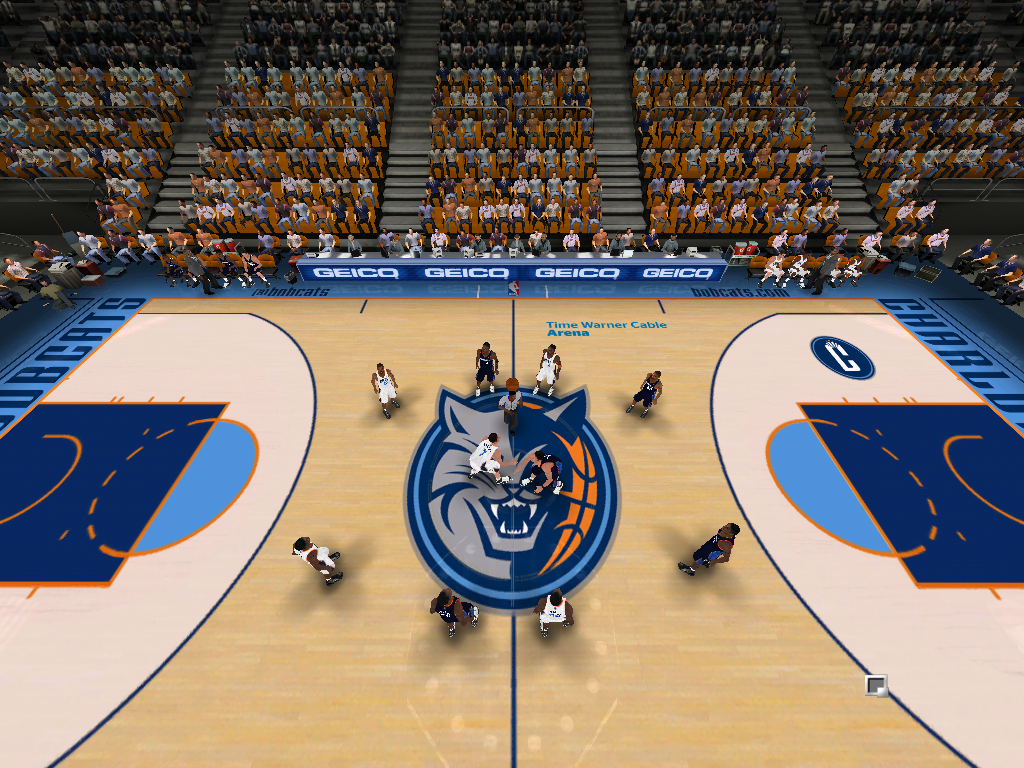 2012/2013 Charlotte Bobcats Court Patch [TanyaMarkova Conversion]
