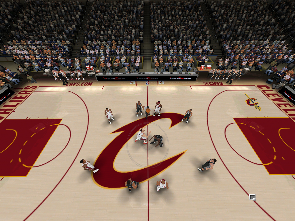 2012/2013 Cleveland Cavaliers Court Patch [TanyaMarkova Conversion]