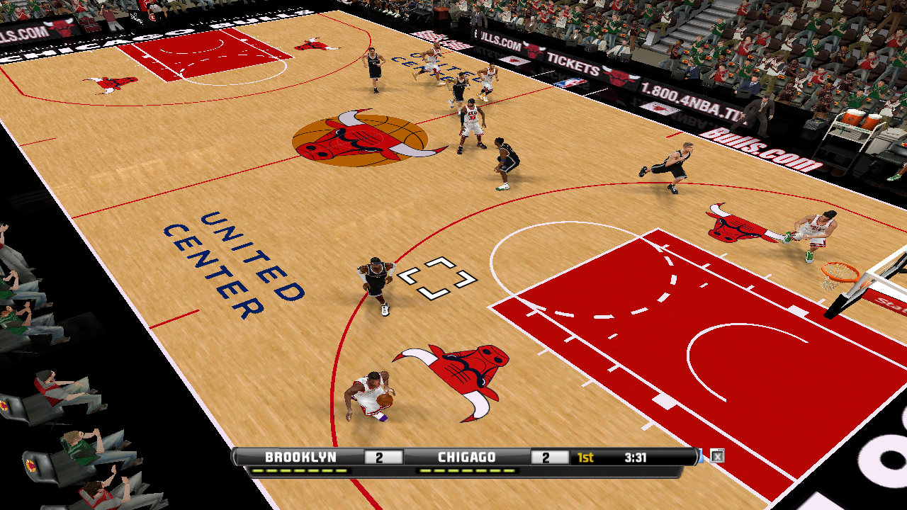 Chicago Bulls 2012/2013 Court Patch