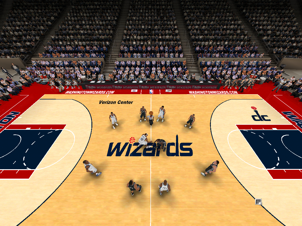 2012/2013 Washington Wizards Court Patch [Hiiipower Conversion]
