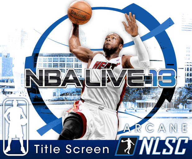 Arcane - NBA Live 06 Title Screen Update