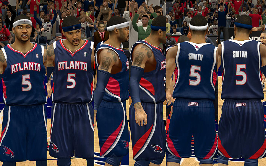 Meet the new Atlanta Hawks. They are made up of Dominique Wilkins, Dikembe  Mutombo, Andre 3000, Big Boi, and the rest of the Dungeon Family.