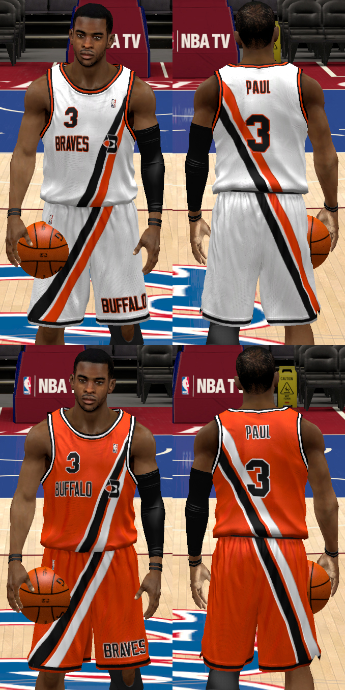 70s Buffalo Braves (Los Angeles Clippers) Jerseys