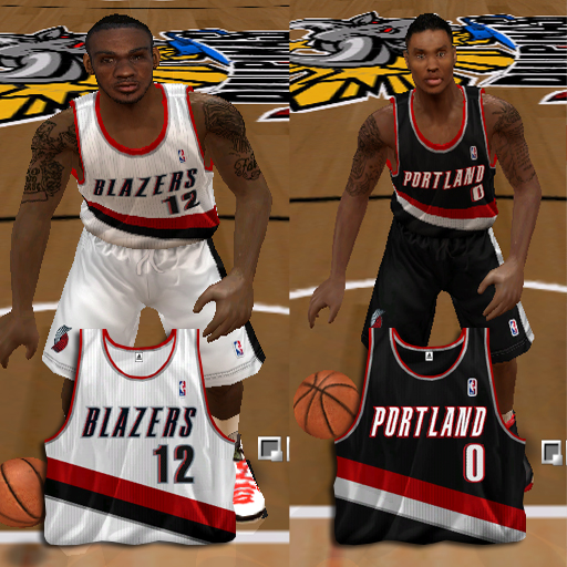 huge selection of 628c1 f85b2 NLSC Forum • Downloads - Portland Trail Blazers 2013 Jersey Pack