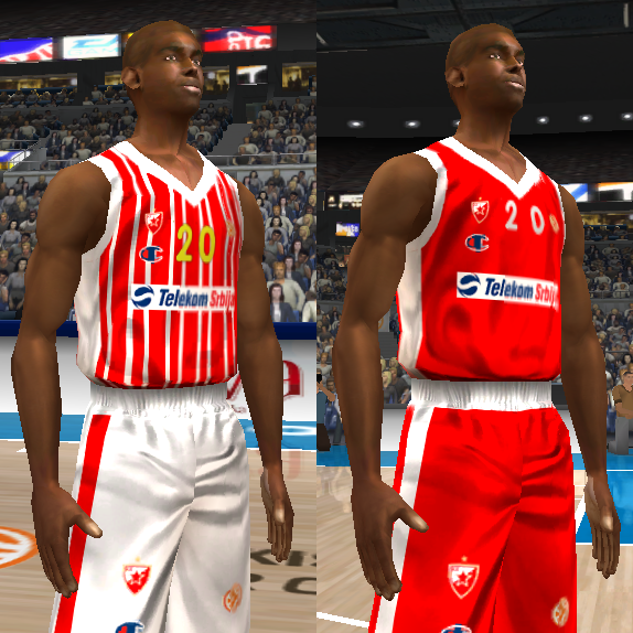 2013/2014 Red Star Belgrade Jersey Patch