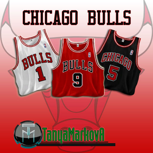 Chicago Bulls Jersey Pack