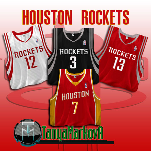 Houston Rockets Jersey Pack
