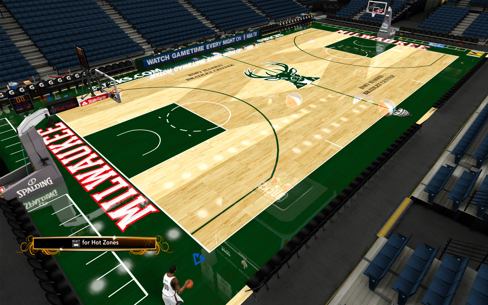 2013/2014 Milwaukee Bucks Court Ultra HD