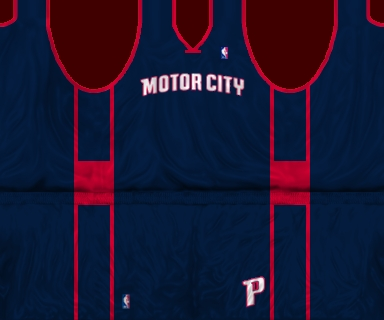 Detroit Pistons 2013/2014 Alternate Jersey Patch