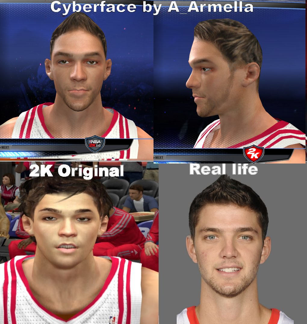 Chandler Parsons Face