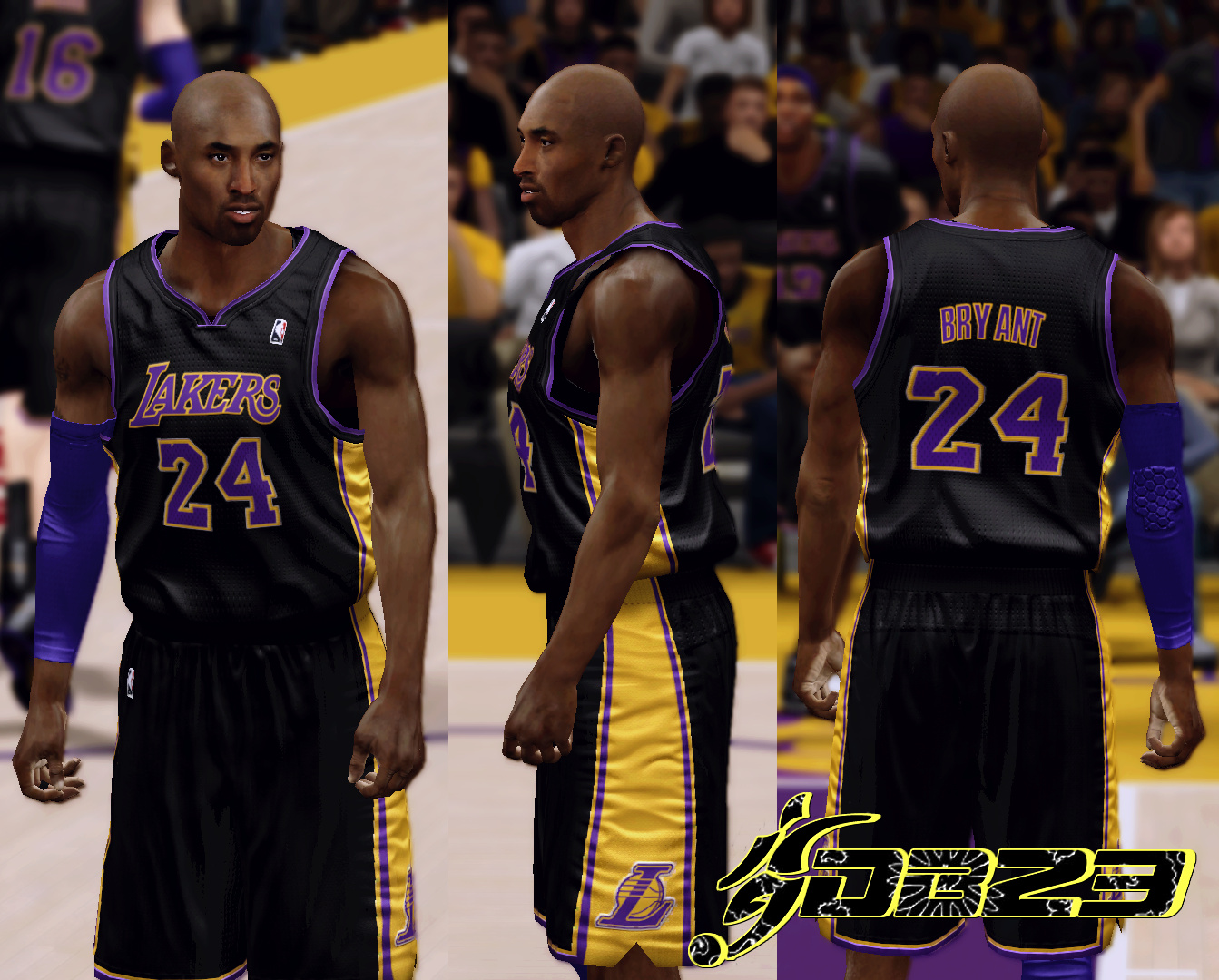 Los Angeles Lakers Hollywood Nights Jersey