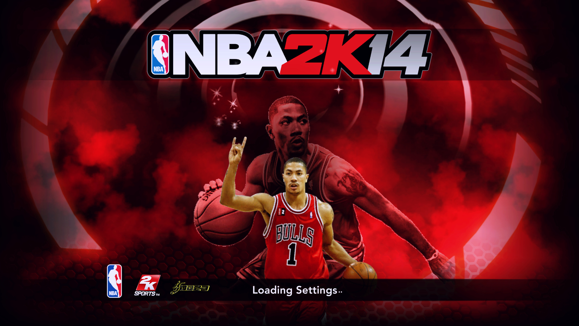 Derrick Rose Title Screen