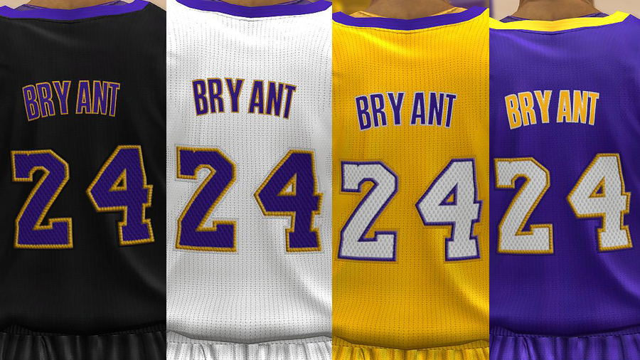 Los Angeles Lakers Jersey Pack