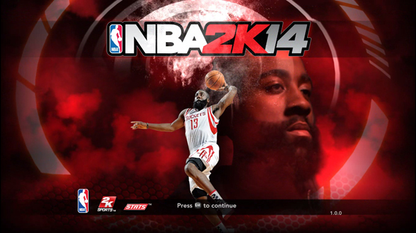 James Harden Title Screen