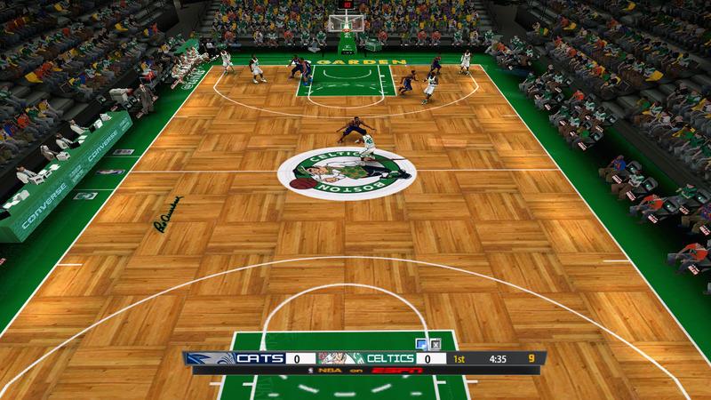 NLSC Forum • Downloads - Boston Celtics 2013/2014 Court Patch