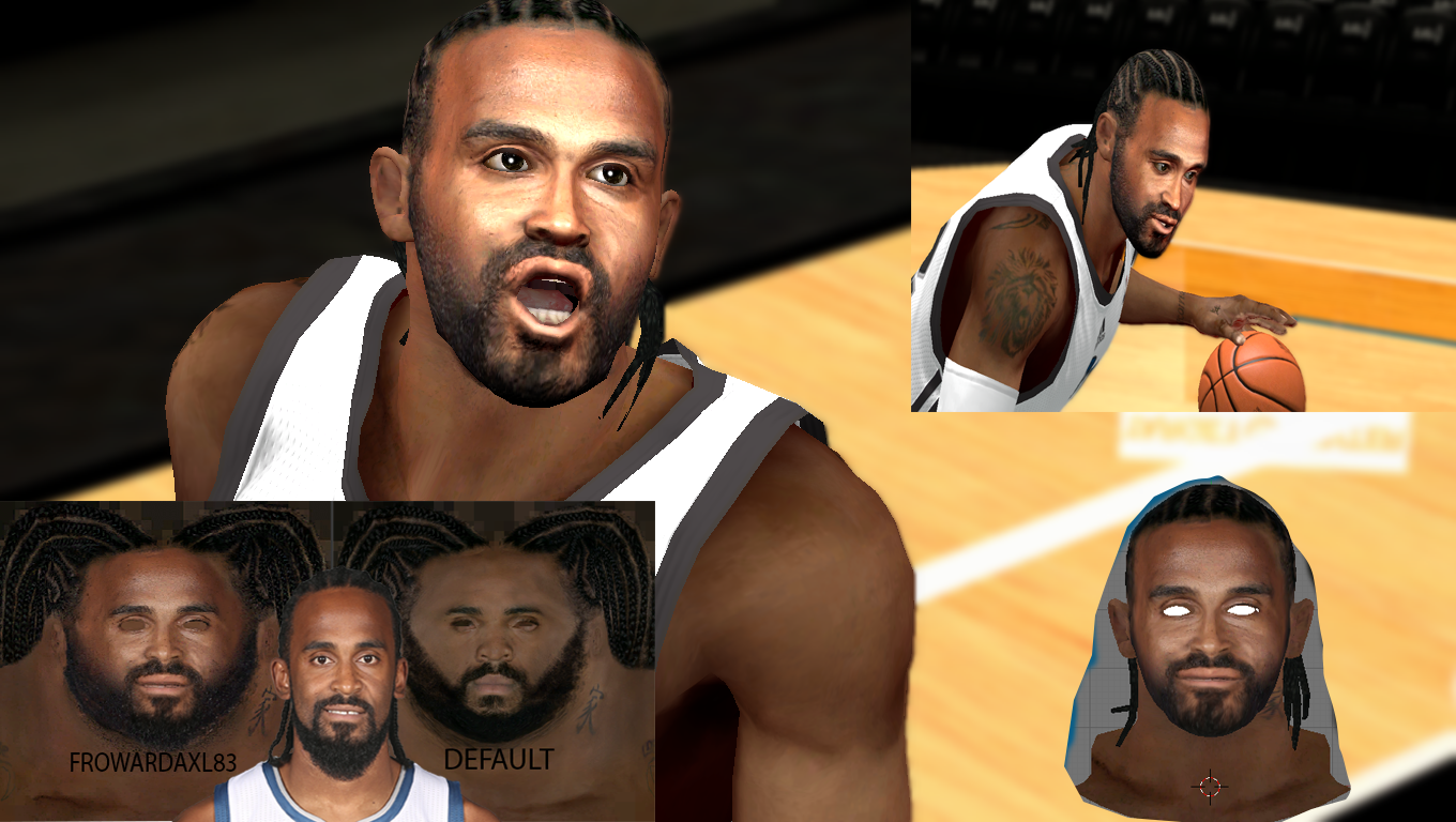Ronny Turiaf HD Face