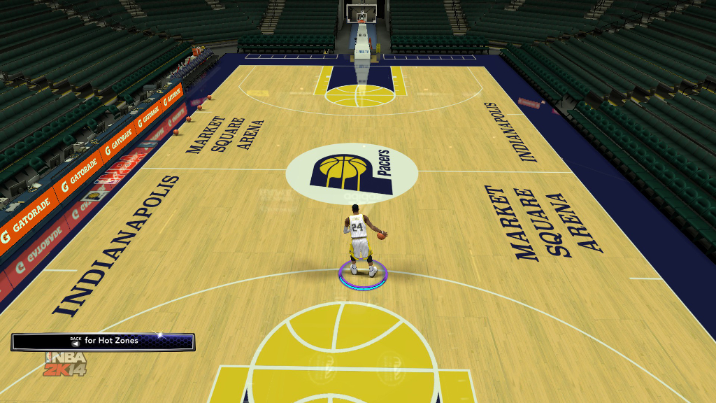 1996 Indiana Pacers Court