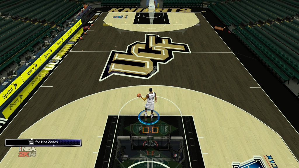 UCF Blacktop Court