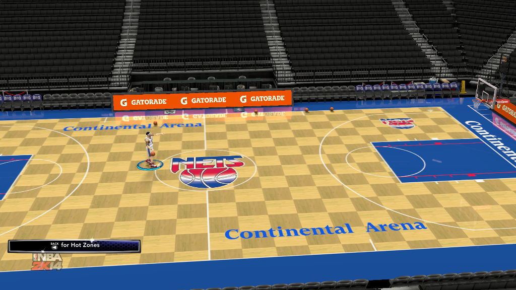 1996 New Jersey Nets Court