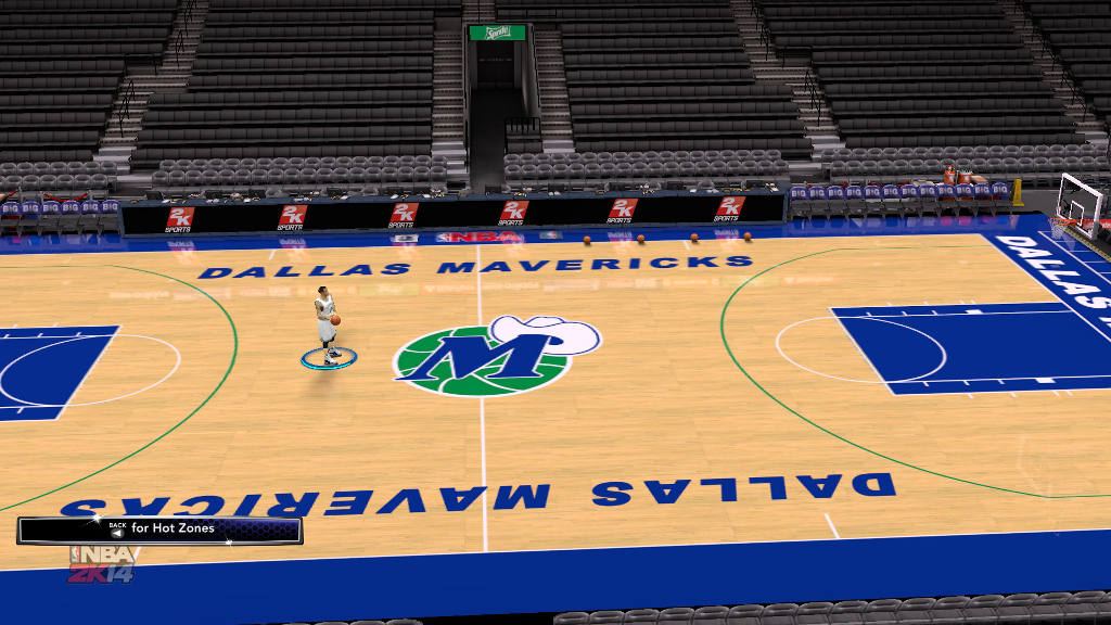 1996 Dallas Mavericks Court