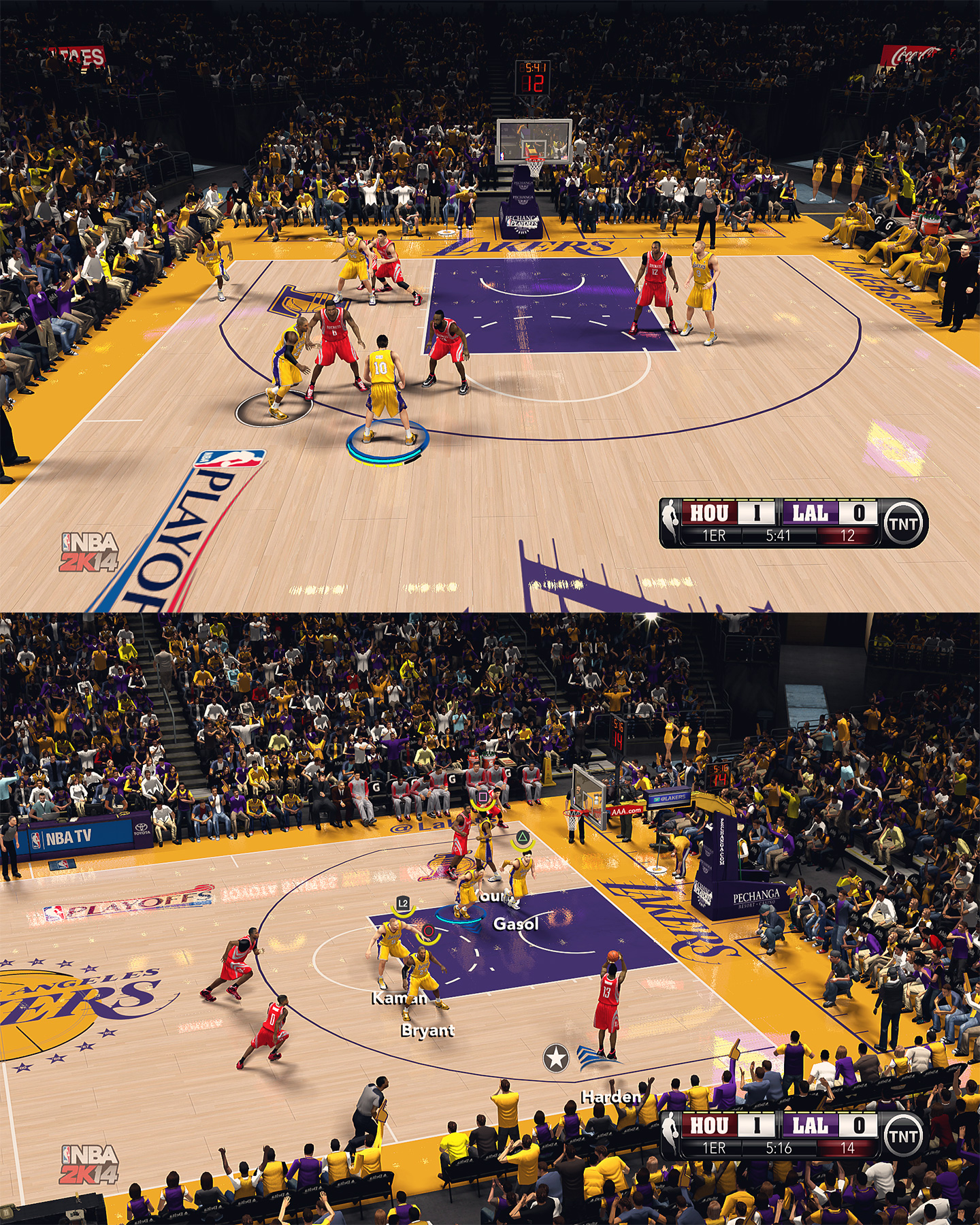 Los Angeles Lakers HD Court by stoeck