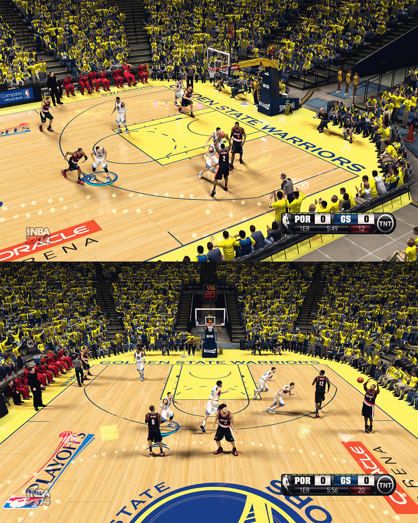 Golden State Warriors HD Court by stoeck