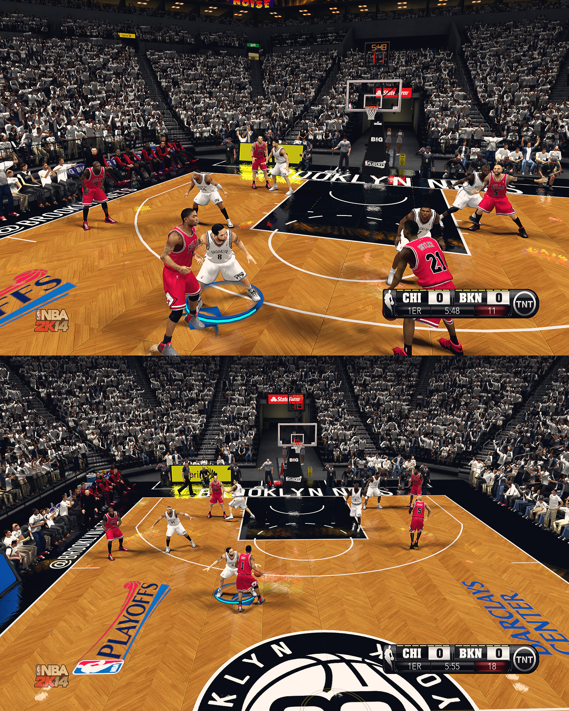 Brooklyn Nets HD Court by stoeck