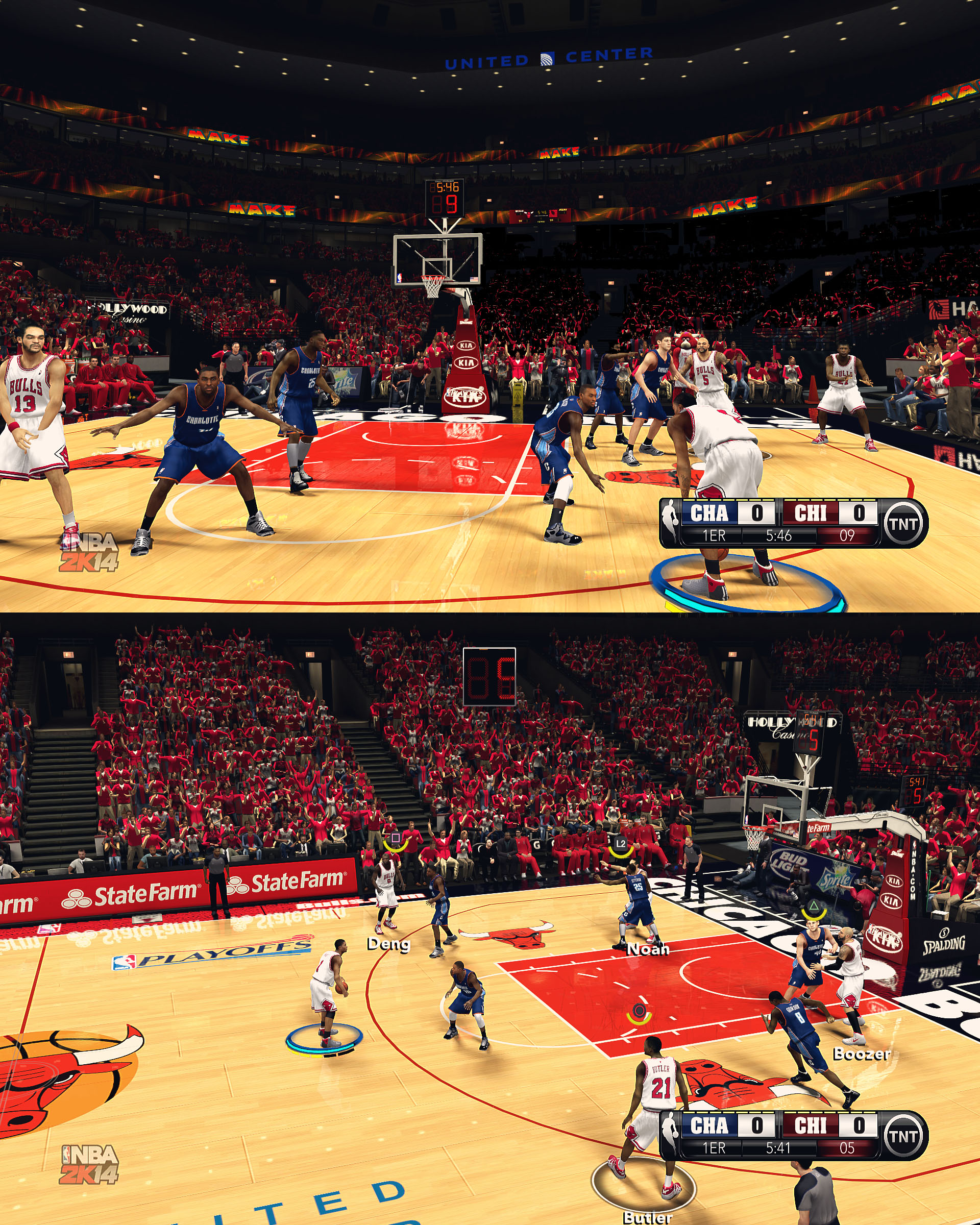 Chicago Bulls HD Court by stoeck