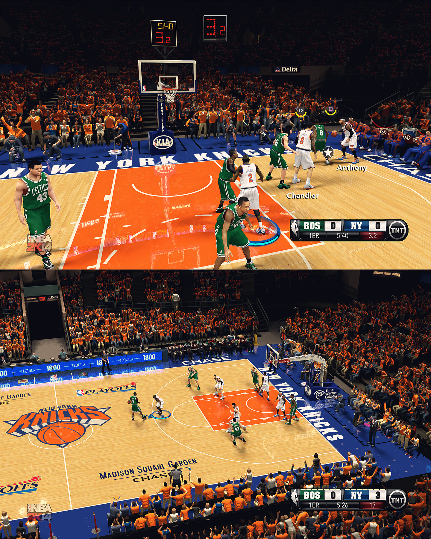 New York Knicks HD Court by stoeck