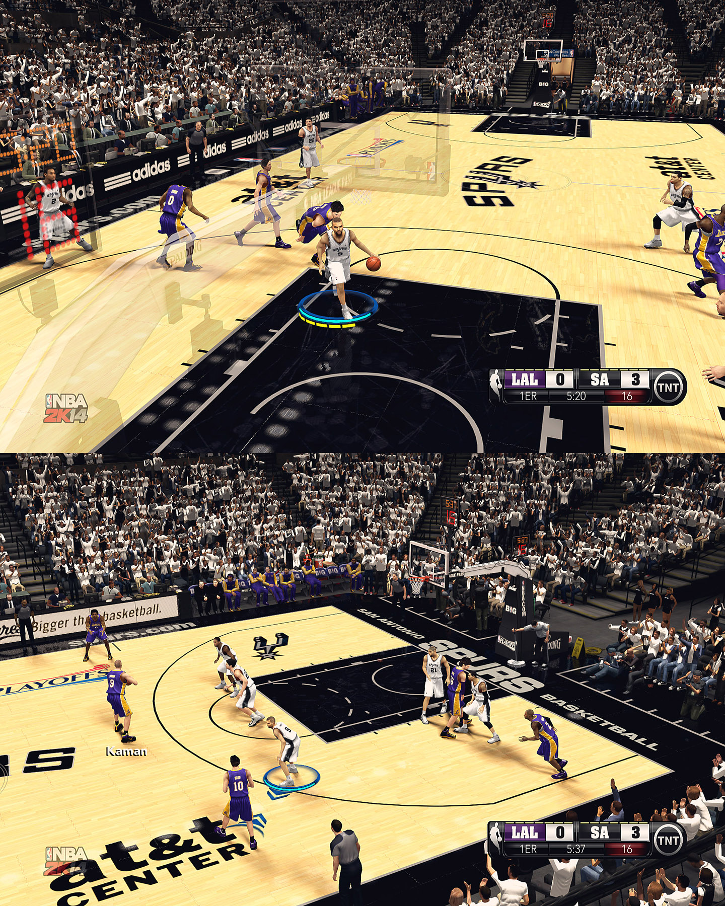 San Antonio Spurs HD Court by stoeck