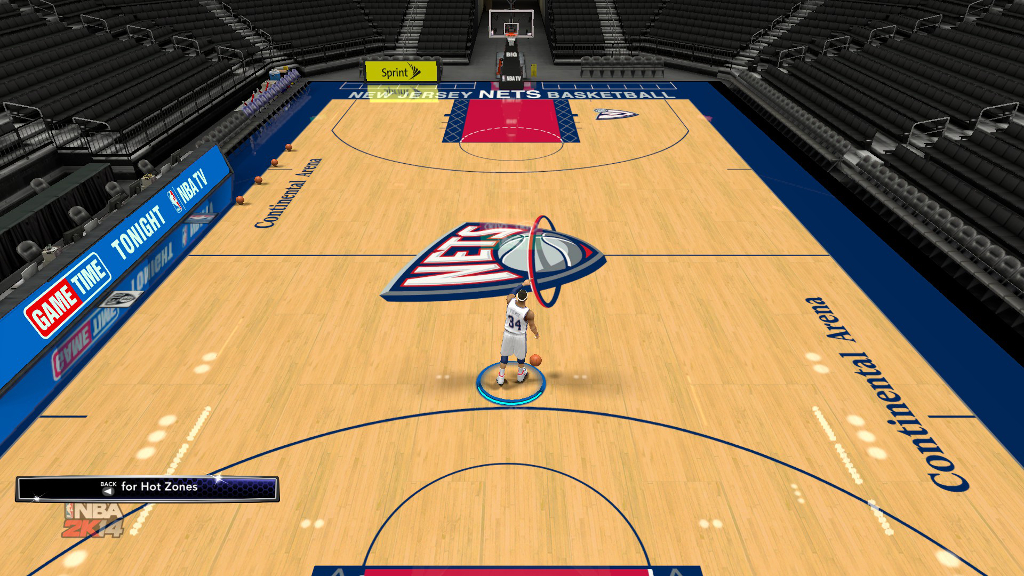 1998 New Jersey Nets Court