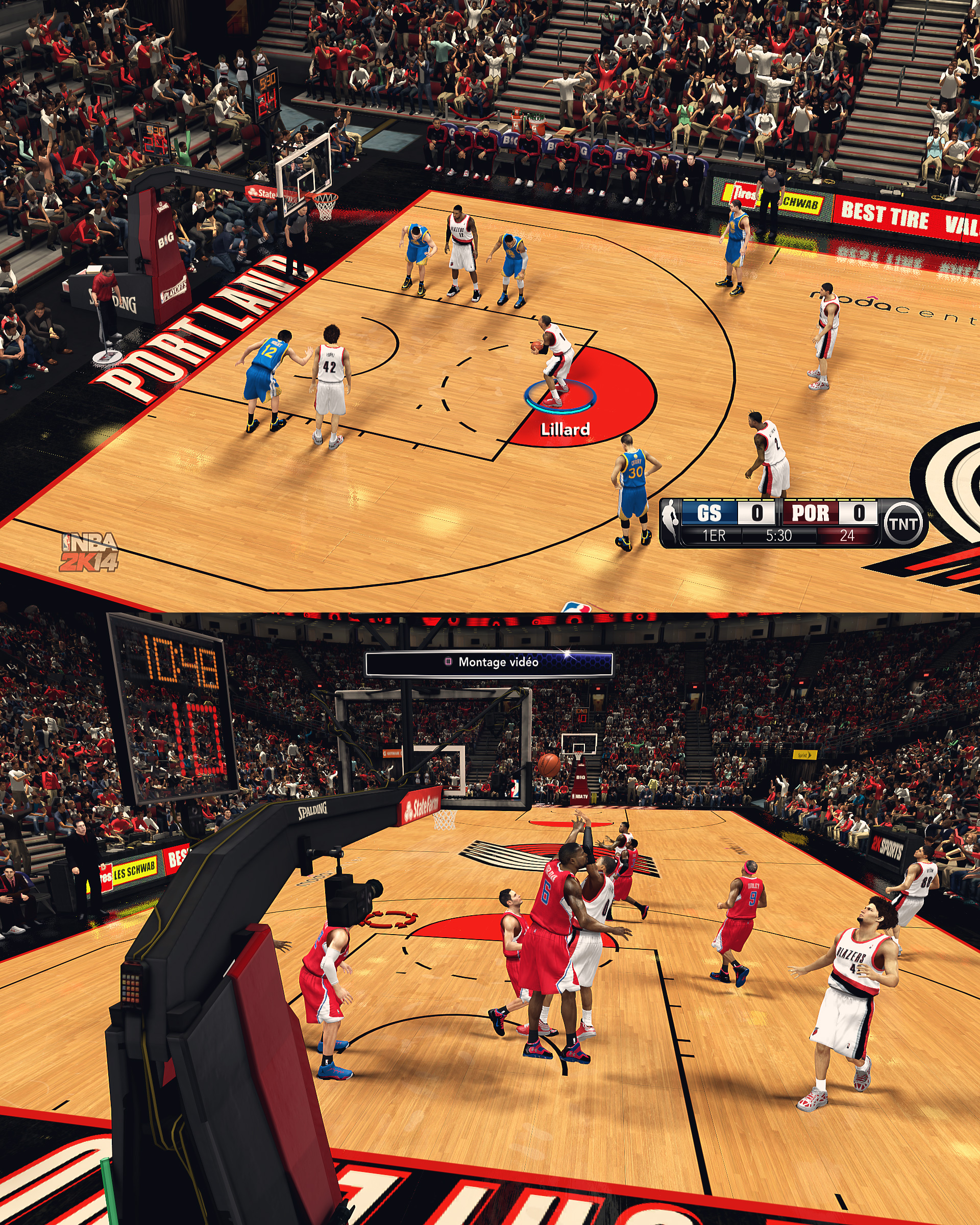 Portland Trail Blazers HD Court by stoeck