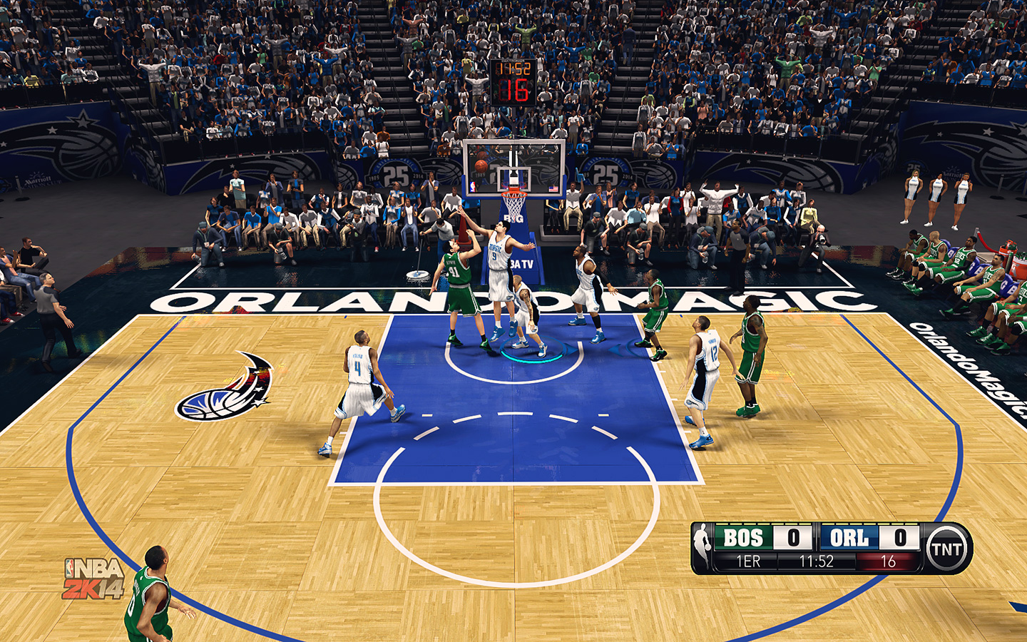 Orlando Magic HD Court by stoeck