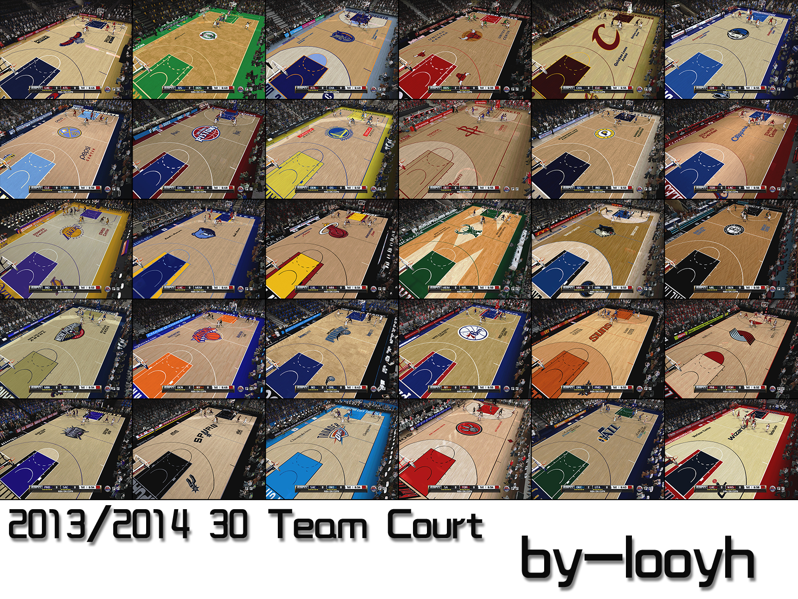 2013/2014 30 Team Court Pack (HD)