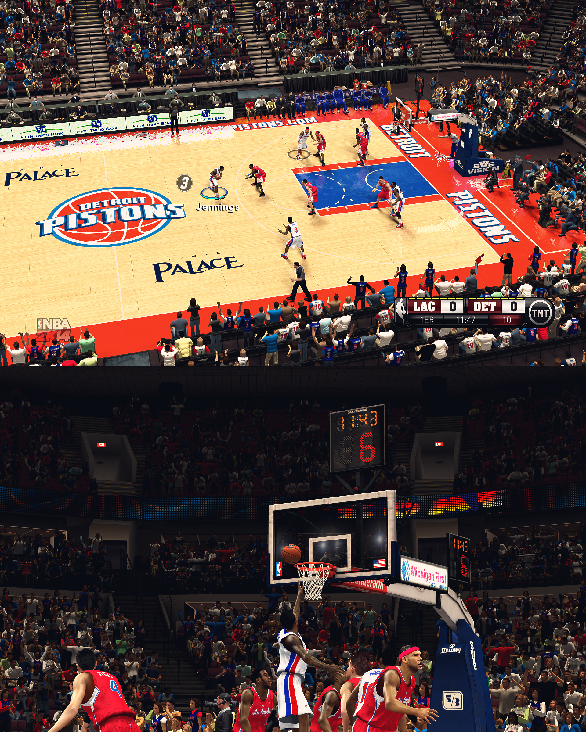 Detroit Pistons HD Arena by stoeck