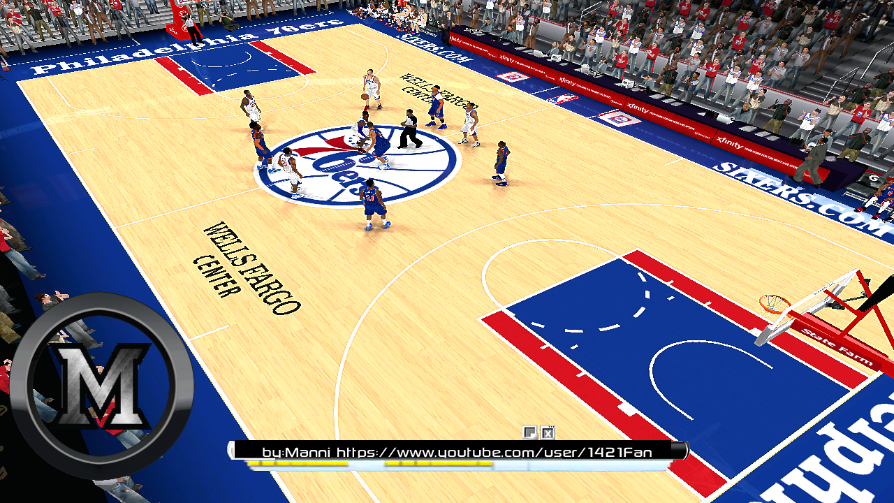 Philadelphia 76ers 2013/2014 Court Patch