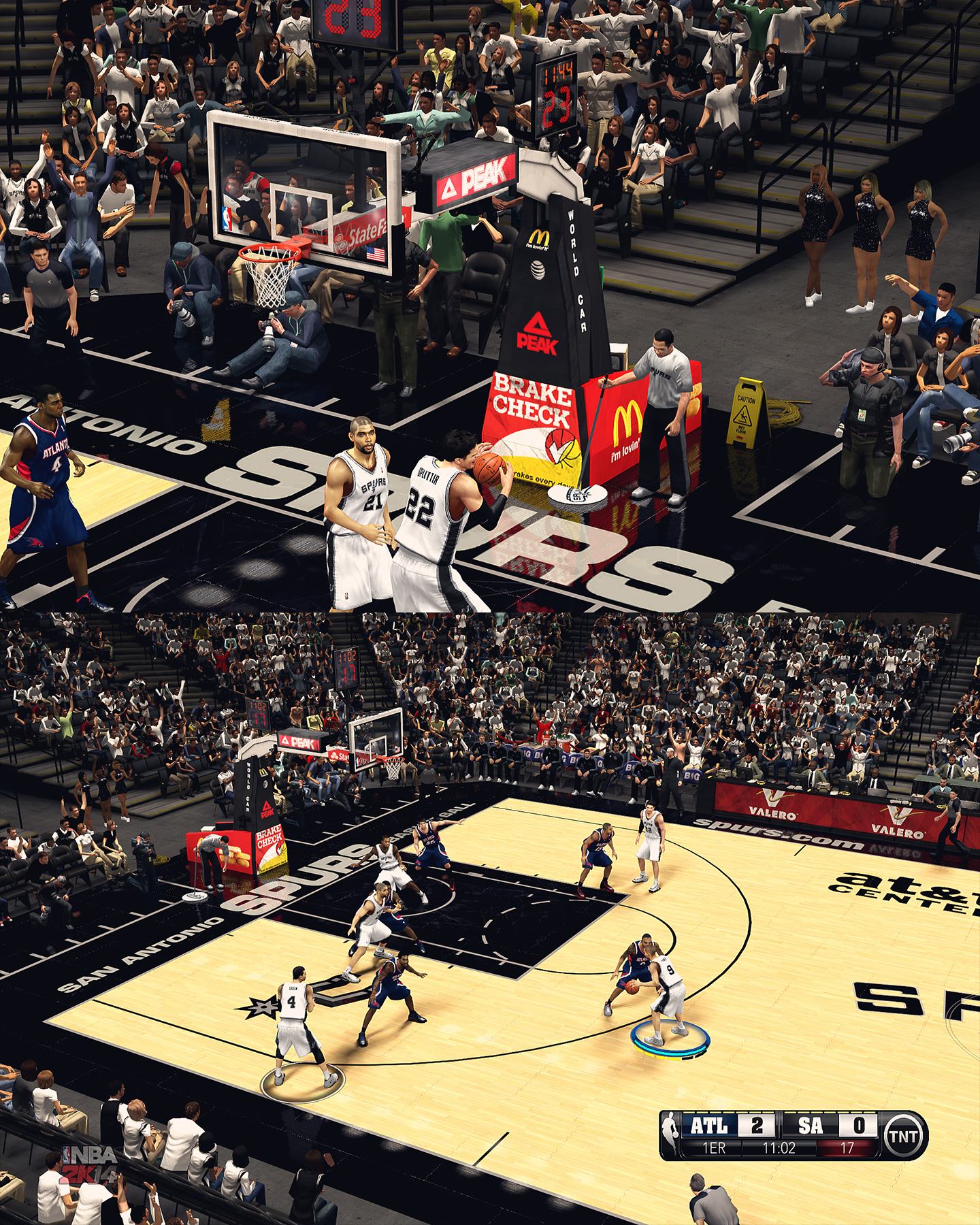 San Antonio Spurs HD Arena