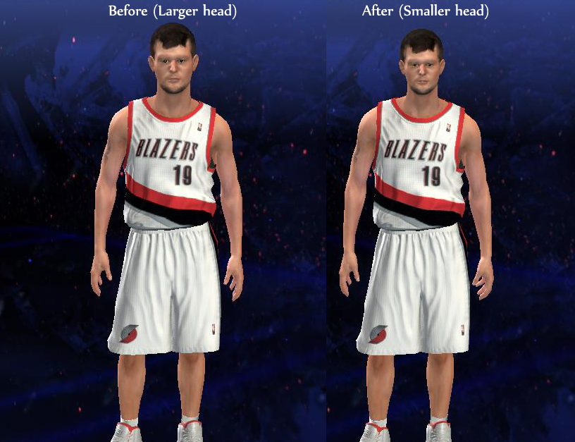 Joel Freeland Headshape Fix