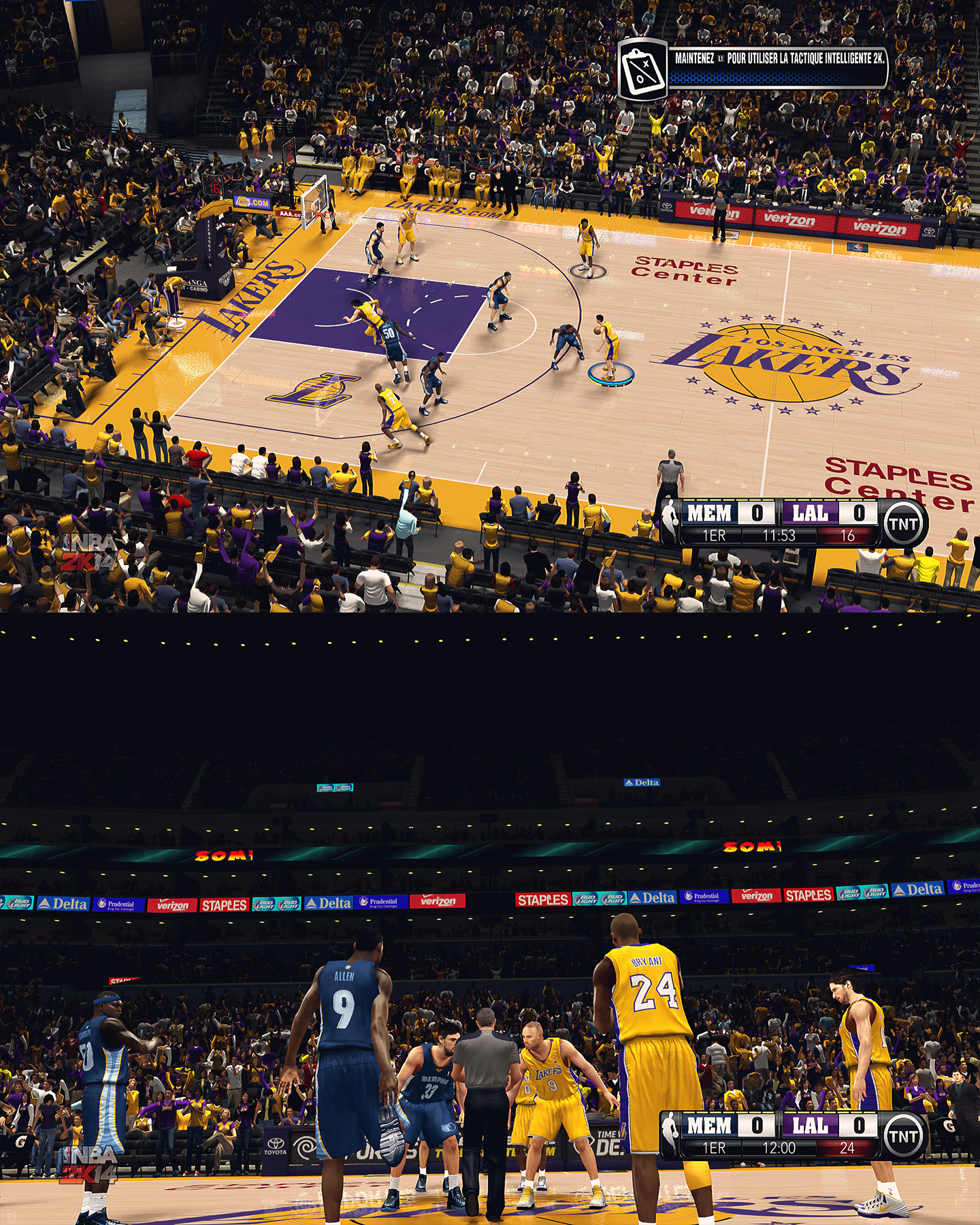 Los Angeles Lakers Staples Center - HD Arenas