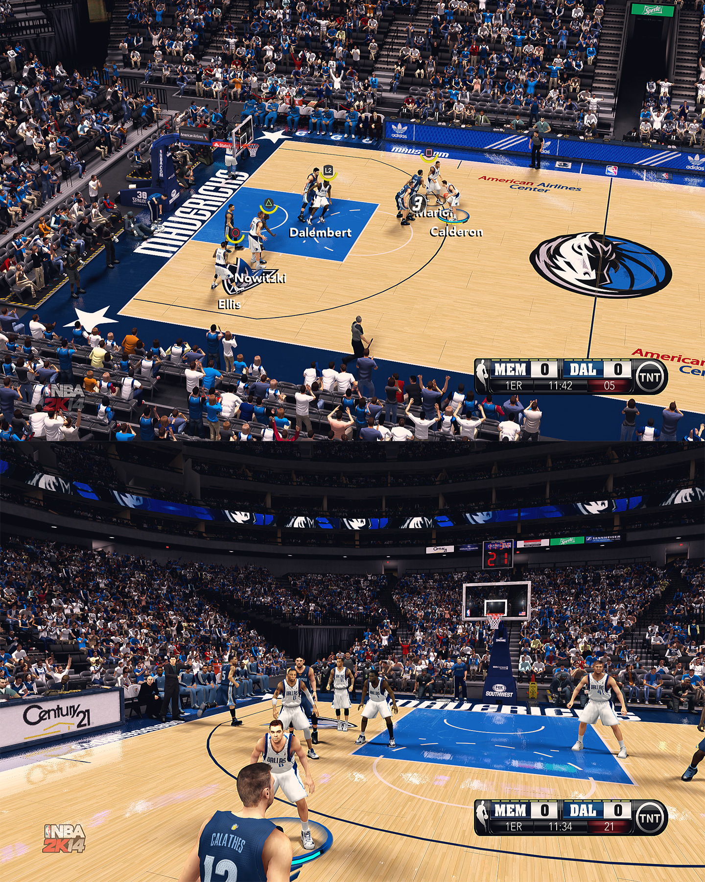 Dallas Mavericks American Airlines Center - HD Arena