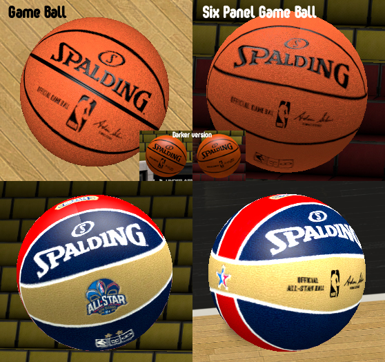Spalding NBA Adam Silver Game Balls