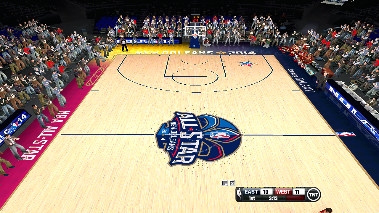 2014 NBA All-Star Courts