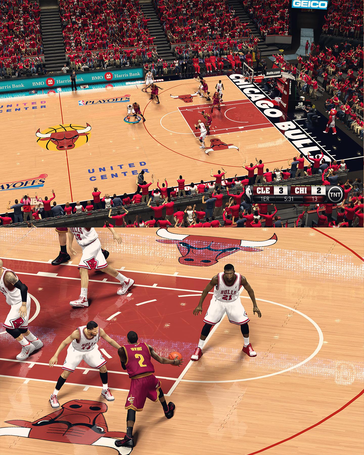Exterior: Chicago Bulls United Center