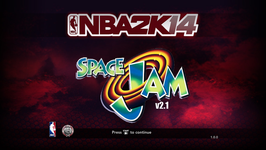 Space Jam v2.1 Title Screen